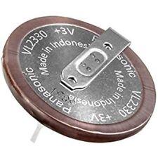 VL2330  Coin Cell Battery 3V 50mAH RECHG W/TABS    VL-2330