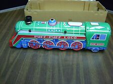 Mechanical Tin Puff-Puff Loco Toy Train ME 660 Battery Operated Mystery Action