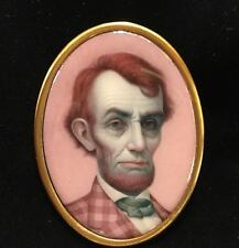 Mark Ryden Pink Lincoln art pin from Gay 90's exhibit