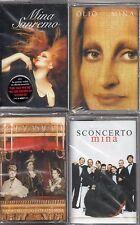 LOTTO 4 MUSICASSETTE MINA - SANREMO OLIO SCONCERTO NAPOLI SECONDO - 4 MC NUOVE