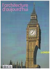L'ARCHITECTURE D'AUJOURD'HUI 365 2006 LONDRES + PARIS POSTER GUIDE English