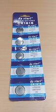 5 PACK - CR1616 DL1616 3V Lithium Coin Cell Battery Set