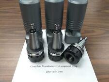 3pcs ISO30 ER32 Balanced Collet Chucks G2.5/30000RPM 50mm projec. #ISO30-ER32-50