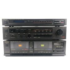 Technics SU-V75 Integrated Stereo Amplifier ST-S74 Tuner RS-T24 w/ Cassette Deck