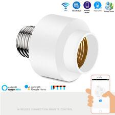 Smart Wifi Light Bulb Socket E27 Switch Lamp Base Holder For Alexa Google Home