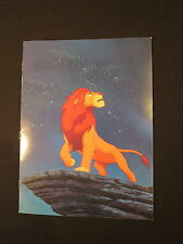 Disney Pictures THE LION KING Film Program Cast Crew 1994 Color Free Shipping