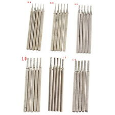 60Pcs 0.4 0.6 0.8 1 1.2 1.5 mm diamond coated hole saw drill Solid bits Jewelry