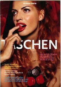 Taschen Catalog Fall/Winter 2008/09 • Ingmar Bergman, The Godfather Trilogy, etc