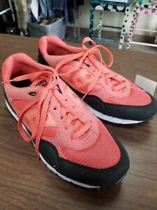 Saucony Shadow 6000 men Size 9 Sneakers Coral, Black, And White
