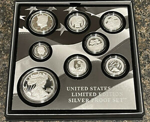 2020-S Limited Edition Silver Proof 8 Coin Set (20RC) Ready To Ship