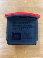 Nintendo 64 Memory Expansion Pak N64 NUS-007 Tested Japan