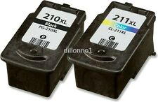 2 PACK PG210 XL CL211 XL For Canon PIXMA MX320 MX330 MX350 MX360 iP2700 iP2702