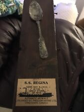 SS Regina Spoon From Shipwreck 1913 Authentic Artifact