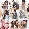 Women Soft Long Neck Large Scarf Wrap Shawl Stole Scarve Chiffon Winter Gift