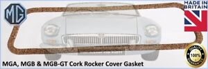 5 x CLASSIC AUSTIN MGA MGB MGB GT CORK ROCKER COVER GASKET THIS IS FOR 5