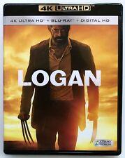 MARVEL LOGAN 4K ULTRA HD 1 DISC SET FREE WORLD WIDE SHIPPING WOLVERINE X-MEN