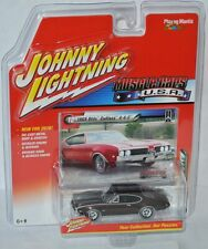 Muscle cars USA - 1969 Oldsmobile Cutlass 442-Brown - 1:64 Johnny Lightning