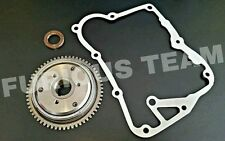 STARTER CLUTCH 3 BOLT WITH GASKET AND OIL SEAL GY6 150CC SCOOTER -FAST SHIPPING-