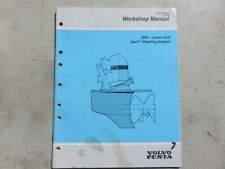 1995 Volvo Penta Dpx Lower Unit Steering System Oem Service Manual P/N 7788859-2