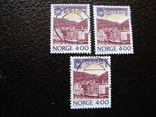 NORVEGE - timbre yvert et tellier n° 973 x3 obl (A04) stamp norway (A)