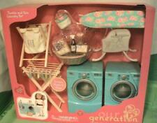 Our Generation Tumble and Spin Laundry Set for 18 inch Dolls w Washer/Dryer New