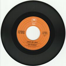 New listing 1976    LIGHT  MY  WAY  -  TED  NUGENT