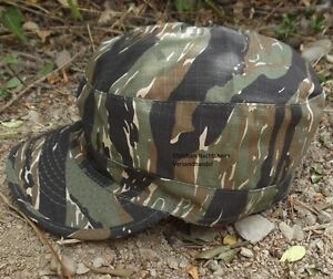 Anglermütze Tigerstripe Jagdmütze Feldmütze Schirmmütze Freizeitmütze Cappi Cap