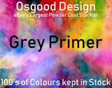 Grey Primer Gloss 10kg Powder Coat Coating Refurbishment Alloy Wheel