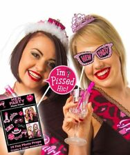 20 x HEN NIGHT Party Bride to be Fun Game Accessory Photo Booth Props