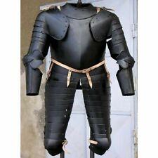 Medieval Armor Suit Battle Ready Steel Wearable Costume