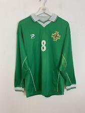 Northern Ireland Official Team Wear Shirt 1999-2001 Kit Top Jersey XL Men's