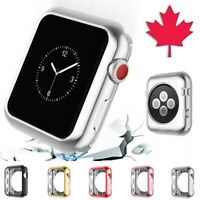 Apple Watch Case - Electroplate Chrome Thin Soft Cover For Series 1 2 3 4 5 6 SE