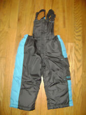 PACIFIC TRAIL OUTDOOR WEAR SNOWPANT SUIT SNOW PANTS BIB size 18M GRAY BLUE GRAY