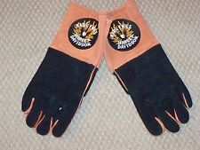 HARLEY DAVIDSON MOTORCYCLES Leather Winter Bon Fire Wood Grilling Welder Gloves