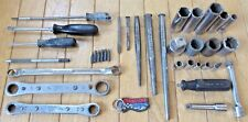 Lot of (36) Snap-on Tools - Wrenches, Sockets, Screwdrivers, Punches & More