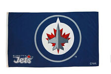 WINNIPEG JETS NHL HOCKEY LOGO LARGE 3' X 5' FEET FLAG BANNER .. NEW
