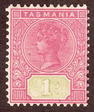 Tasmania 110 1/  Rose Green  MH-OG