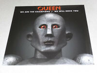 """QUEEN - WE ARE THE CHAMPIONS / WE WILL ROCK YOU - 12"""" Vinyl /// Neu & OVP"""