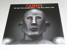 "QUEEN - WE ARE THE CHAMPIONS / WE WILL ROCK YOU - 12"" Vinyl /// Neu & OVP"