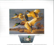 CALIFORNIA #26 1996 STATE DUCK PRINT Robert Steiner, Color Remarque #75/250