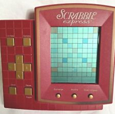 Hasbro Scrabble Express Electronic Hand Held Game With 4 Play Variations