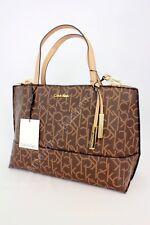 Calvin Klein Monogram Medium Satchel  Handbag