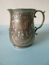 ANTIQUE 1903 SILVER CHRISTENING MUG