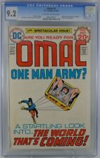 OMAC #1 (1974) CGC 9.2 KEY Origin & 1st Appearance OMAC Jack Kirby Classic W@W!!