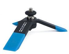 Mini trípode Soporte de escritorio universal para Smartphone DC Tablet Azul