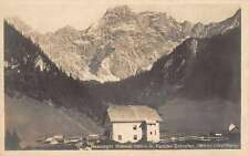 Vorarlberg Austria Scenic View Real Photo Antique Postcard J59567