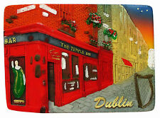 Fridge magnet - Dublin,irish souvenir,ireland 3D design gift TEMPLE BAR/NIGHT