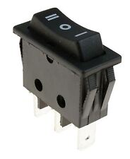 (On)Off(On) Momentary Long Rectangle Rocker Switch SPDT