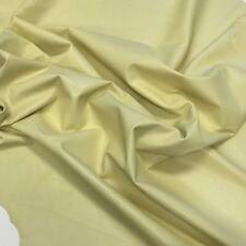 Genuine Lambskin Leather Hide Skin 1-1.25Oz Soft Napa 267 Blonde Yellow