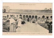 JUDAICA POSTCARD FEZ  MOROCCO JEWISH FAMILIES ESCAPE RIOTS APRIL 1912